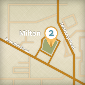 Map of Milton Location
